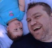 Bebé y papi