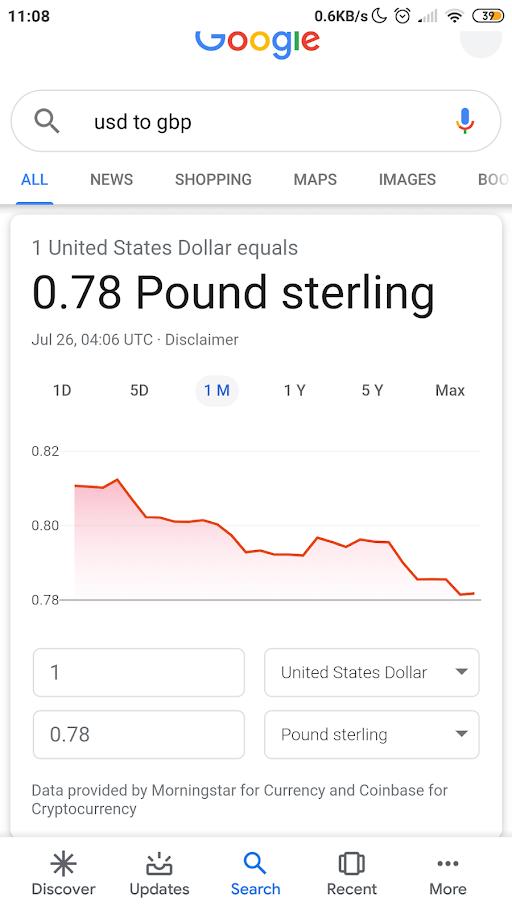 moneda de google